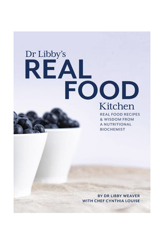 Dr Libbys Real Food Kitchen Book - Kabana Shop