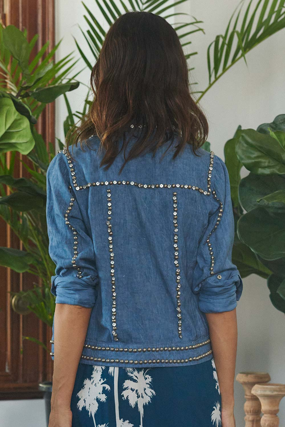 Dolorosa Jacket Denim - Kabana Shop
