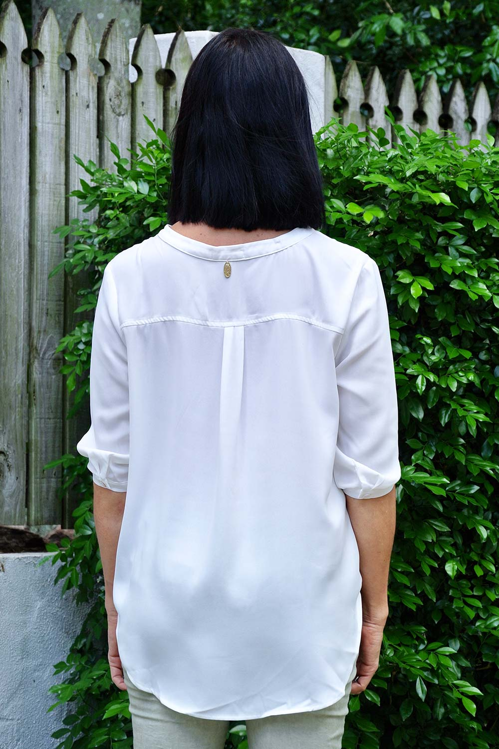 Eliza Top White - Kabana Shop
