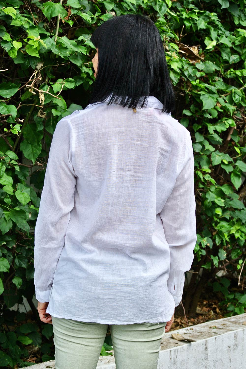 Giselle Top White - Kabana Shop