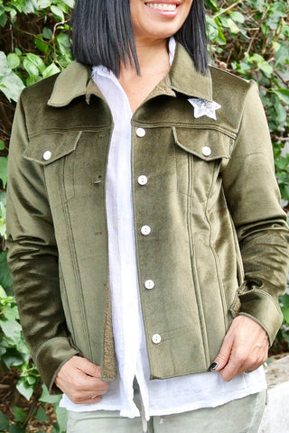Hola Jacket Khaki - Kabana Shop
