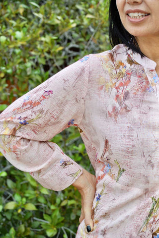 Iris Shirt Pink - Kabana Shop