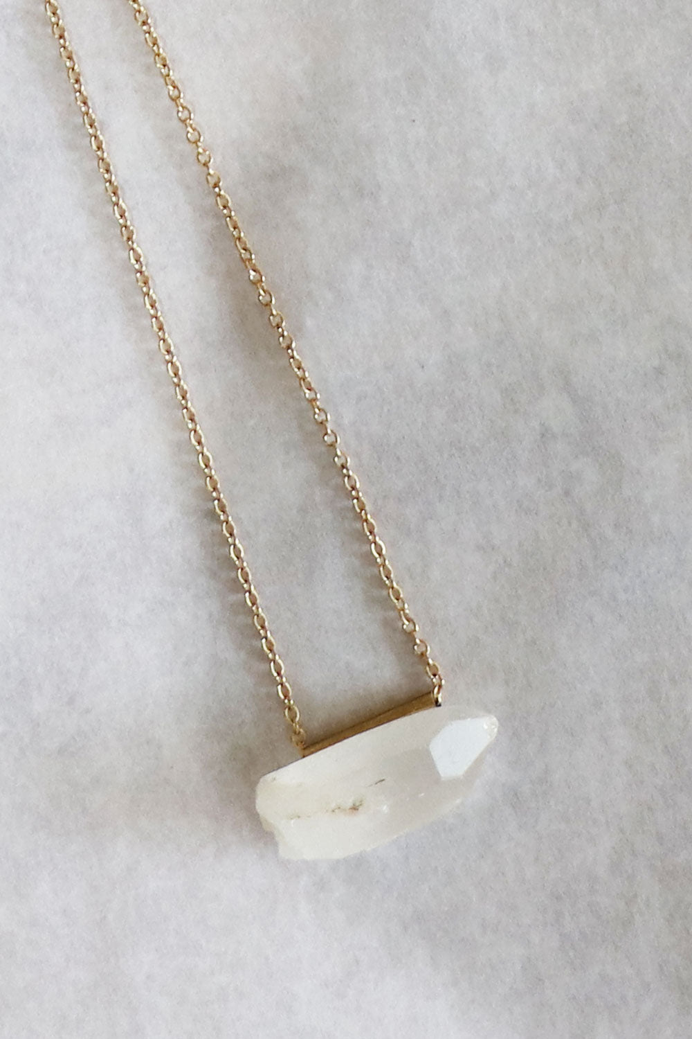 Small Necklace Clear Quartz - Kabana Shop
