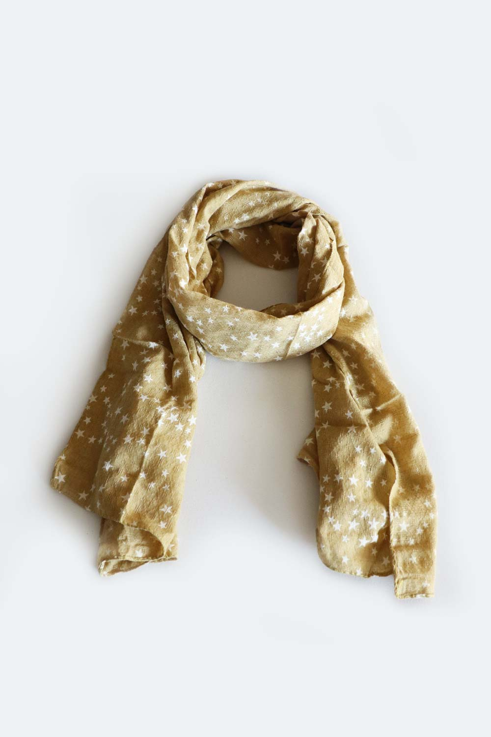 Starry Night Scarf Mustard - Kabana Shop