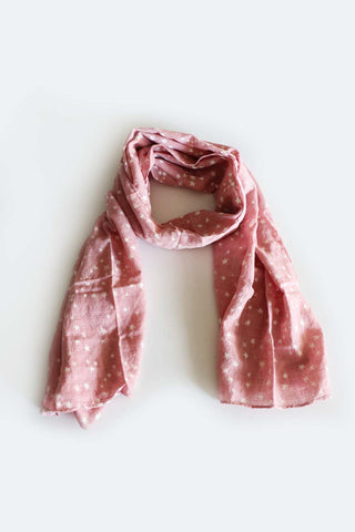 Starry Night Scarf Pink - Kabana Shop