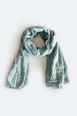 Starry Night Scarf Sage - Kabana Shop