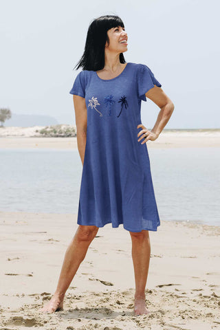 Sway Dress Indigo - Kabana Shop
