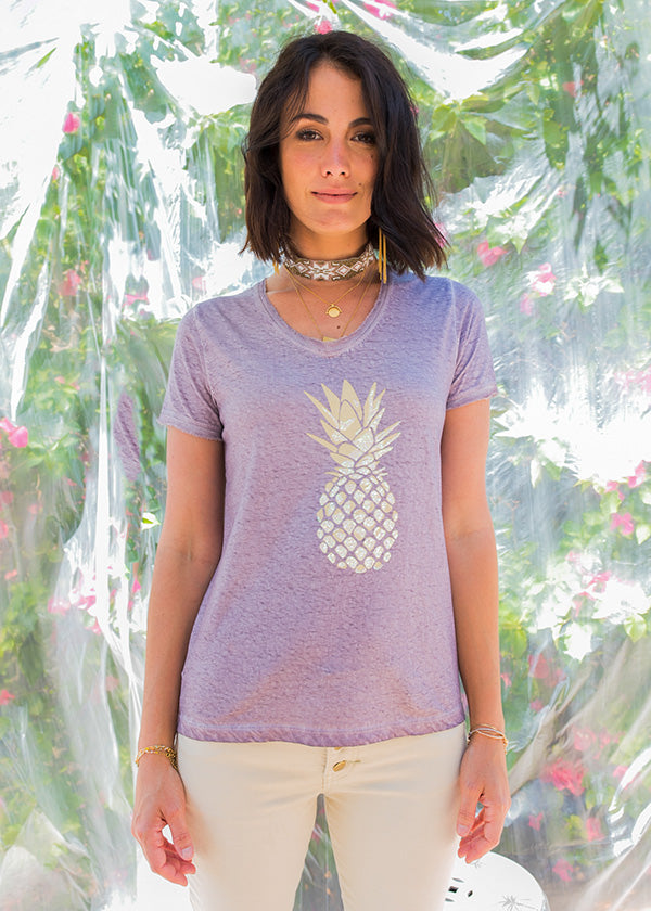 Pineapple T-Shirt Dusk - Kabana Shop