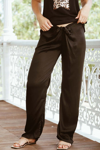Wrap Pant Black - Kabana Shop