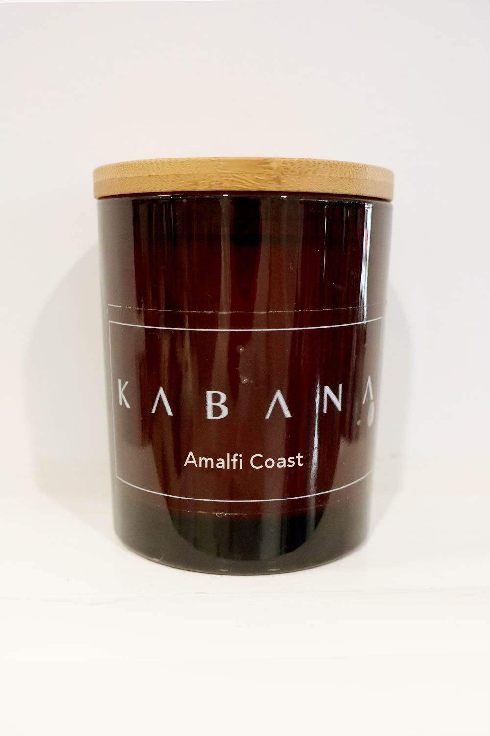 Amber Glass Candle Amalfi Coast - Kabana Shop