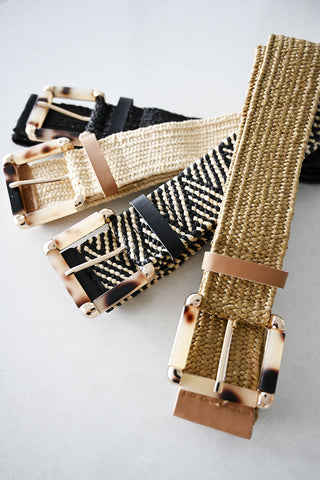 Sardinia Square Belt Gold - Kabana Shop