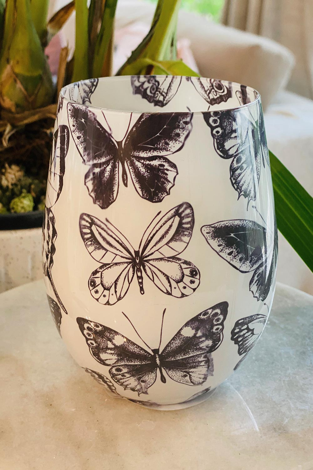 Butterfly Candle French Pear - Kabana Shop