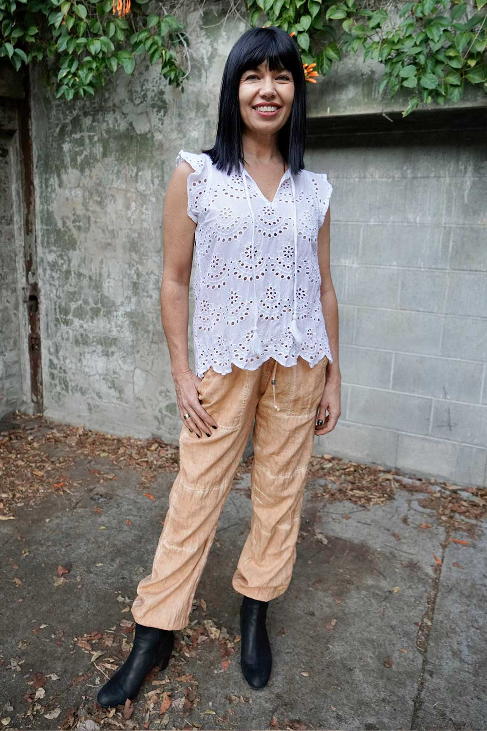 Calcutta Top White - Kabana Shop