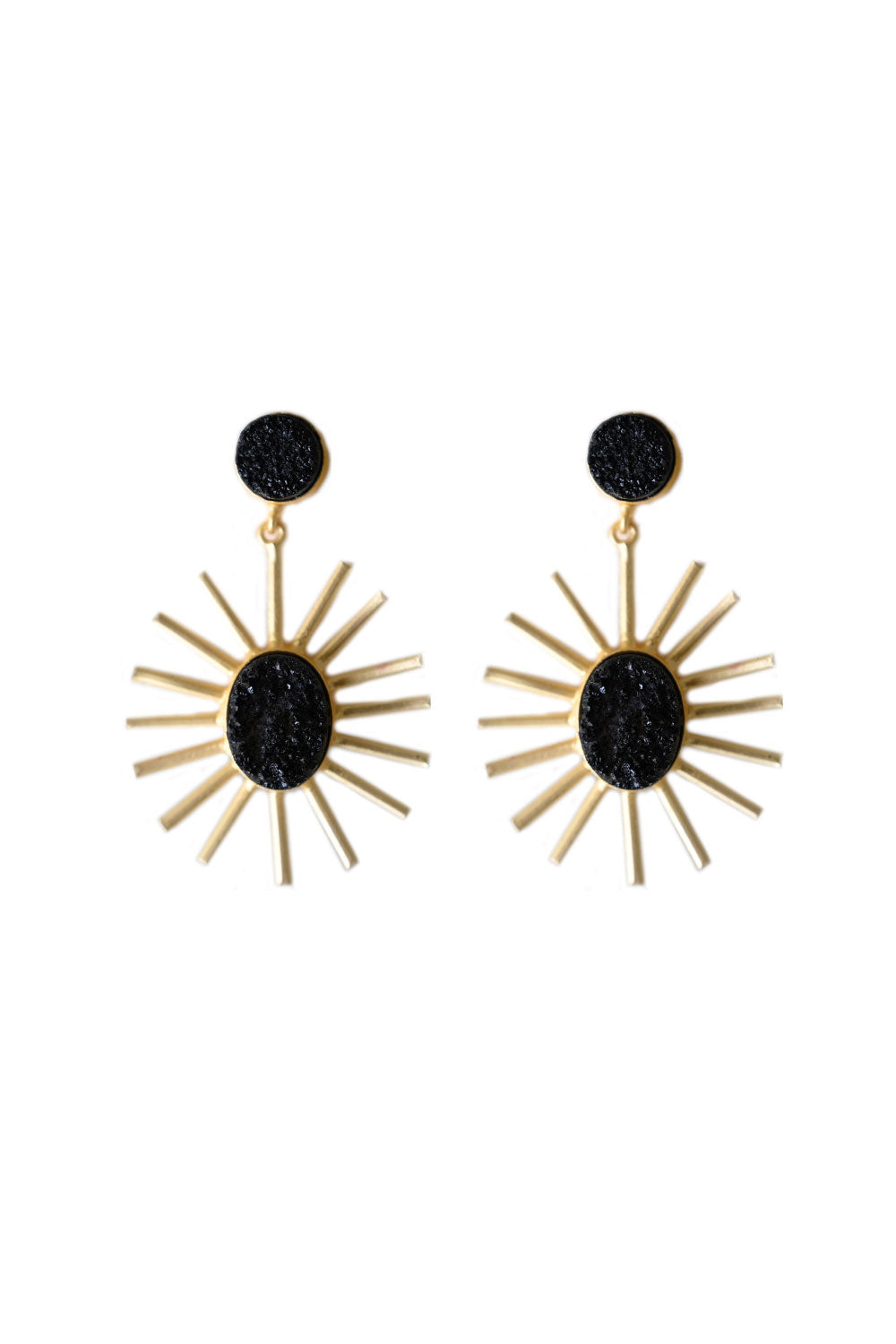 Cleopatra Black Earring - Kabana Shop