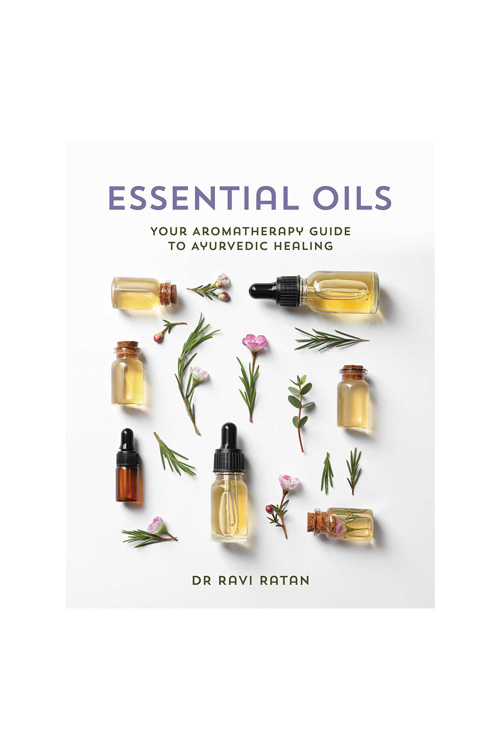Essential Oils Aromatherapy Book - Kabana Shop