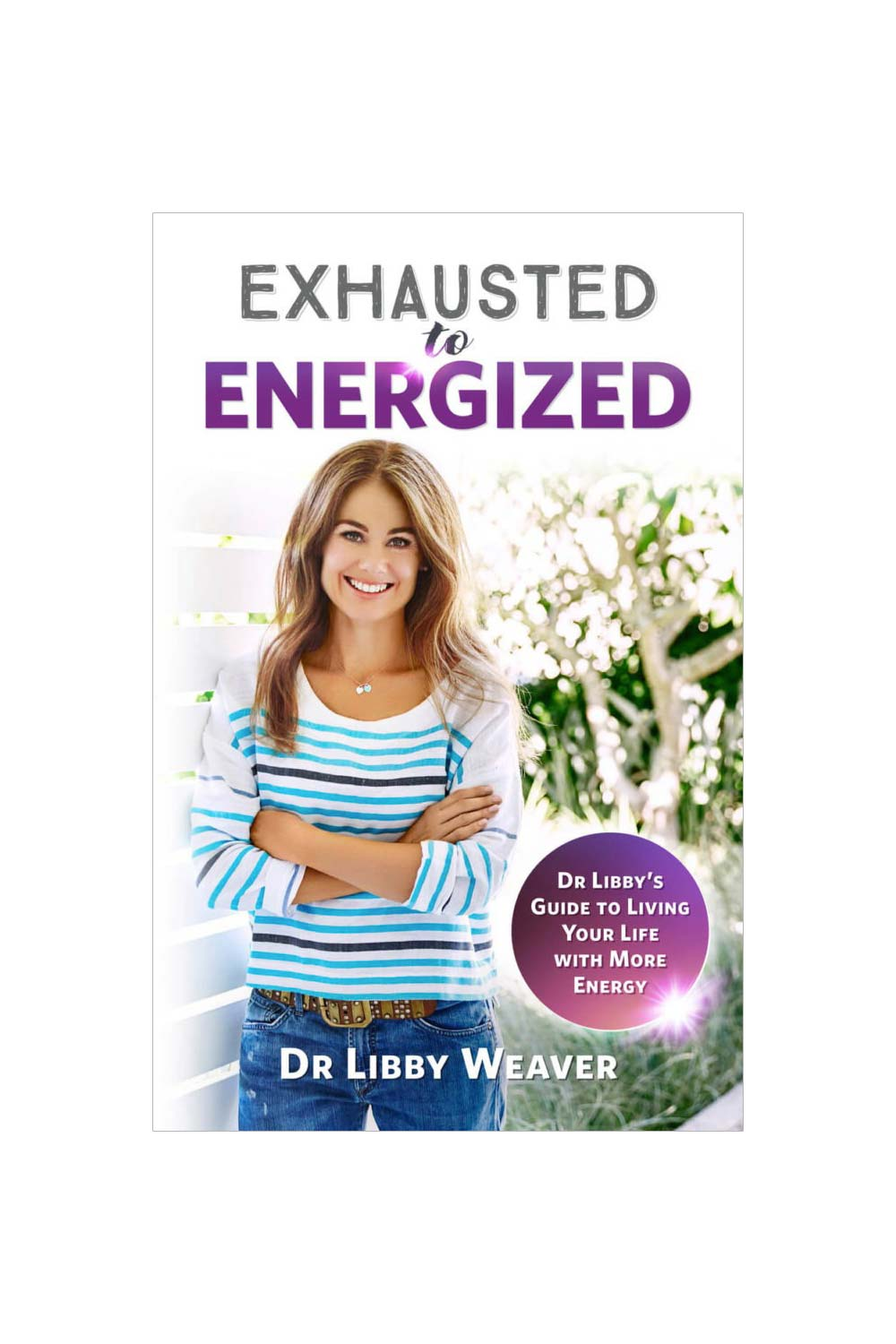 Exhausted To Energized Book - Kabana Shop