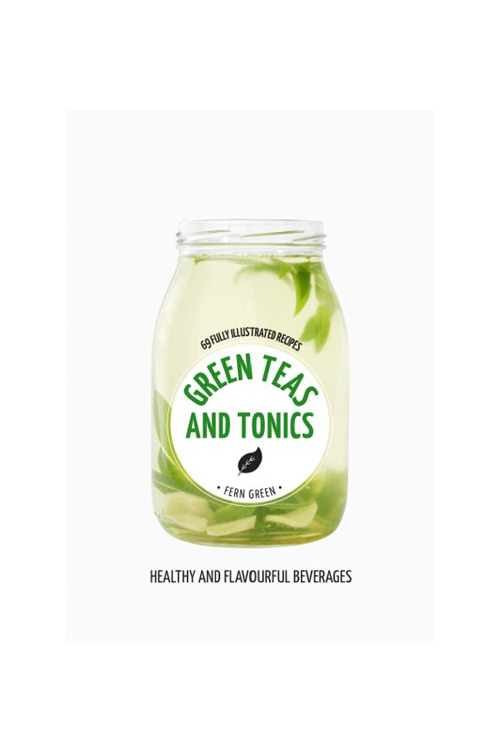 Green Teas & Tonics Book - Kabana Shop