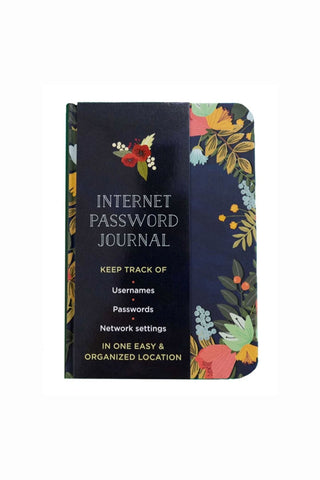 Internet Password Journal Book - Kabana Shop
