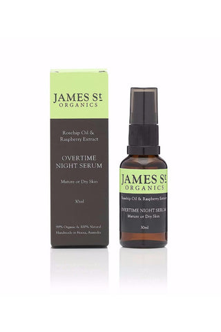 James St Overtime Night Serum Mature or Dry Skin 30ml - Kabana Shop