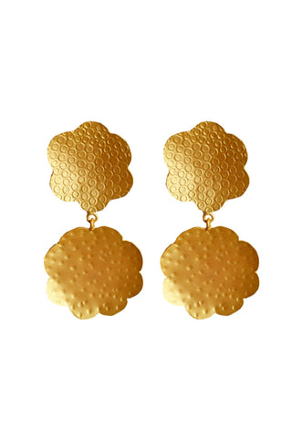 Juliette Earrings Gold - Kabana Shop