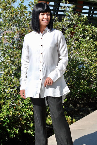 New Luciole Shirt White - Kabana Shop