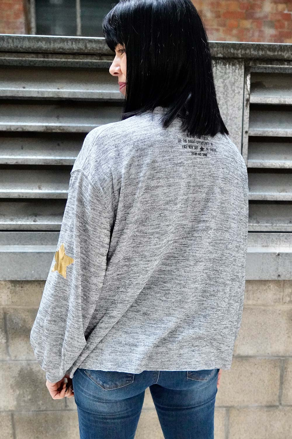 More Love Sweat Top Grey - Kabana Shop