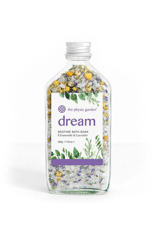 The Physic Garden Dream Bedtime Bath Soak-220G - Kabana Shop