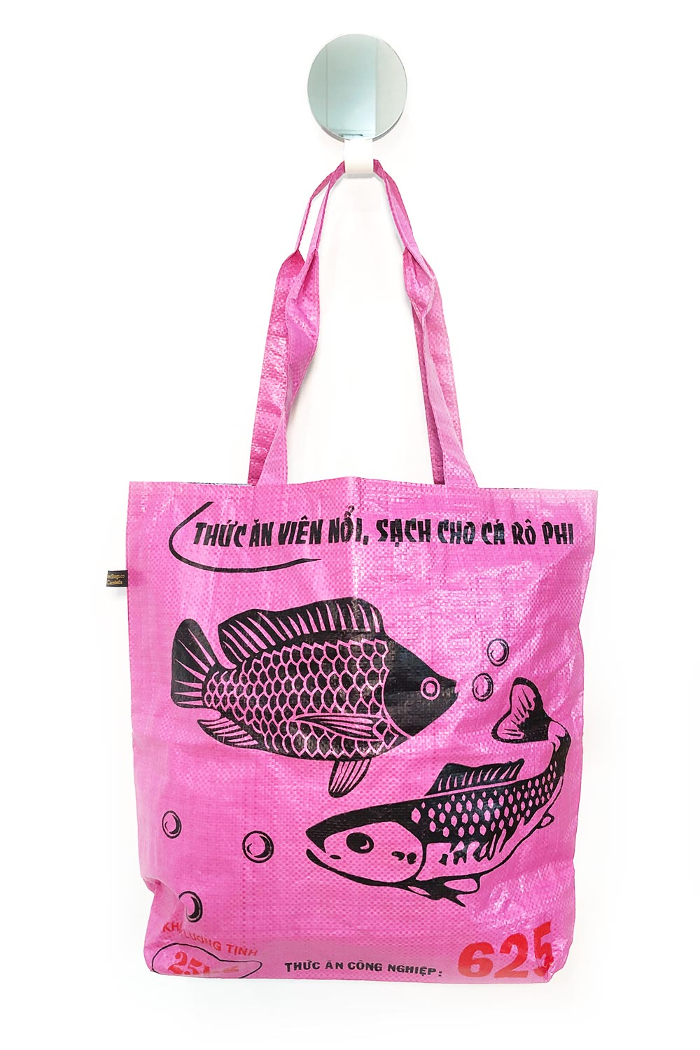 Recycled Shopping Bag Pink - Kabana Shop
