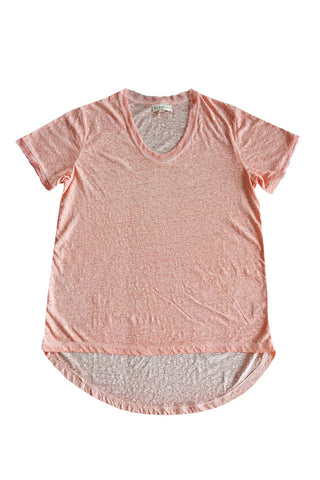 Plain T-Shirt Peach - Kabana Shop