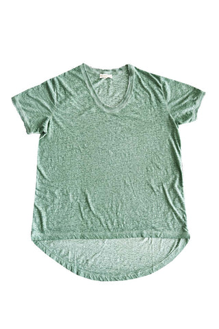 Plain T-Shirt Sage - Kabana Shop