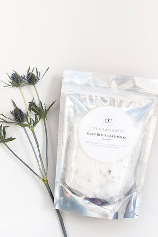 The Goodnight Co Bath Soak - Lavender - Kabana Shop