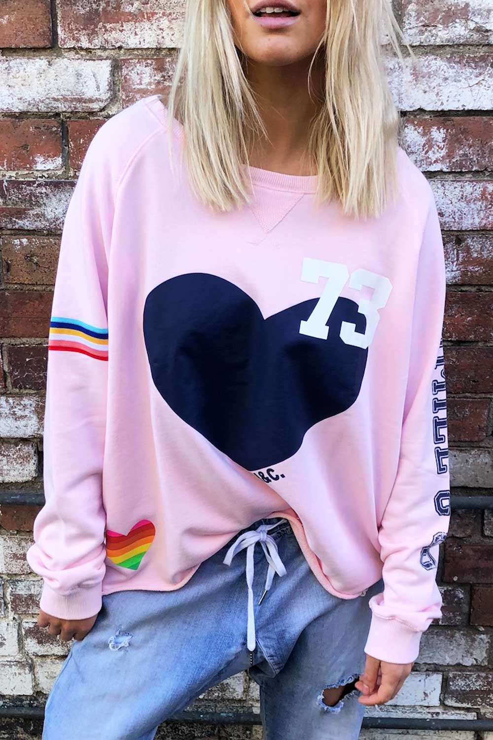 Vintage 73 Sweat Pink - Kabana Shop