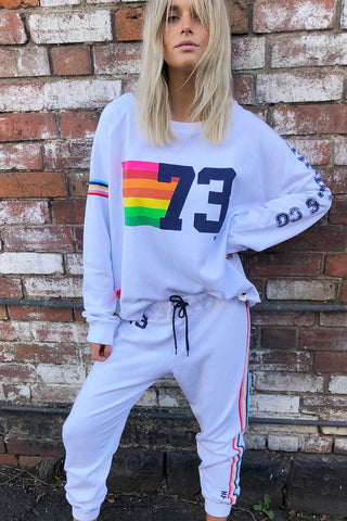 Vintage 73 Sweat White - Kabana Shop