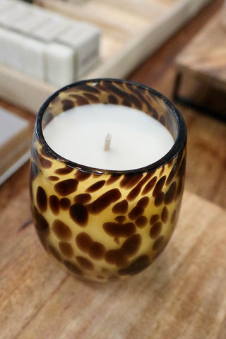 Tortoise Shell Candle - Kabana Shop