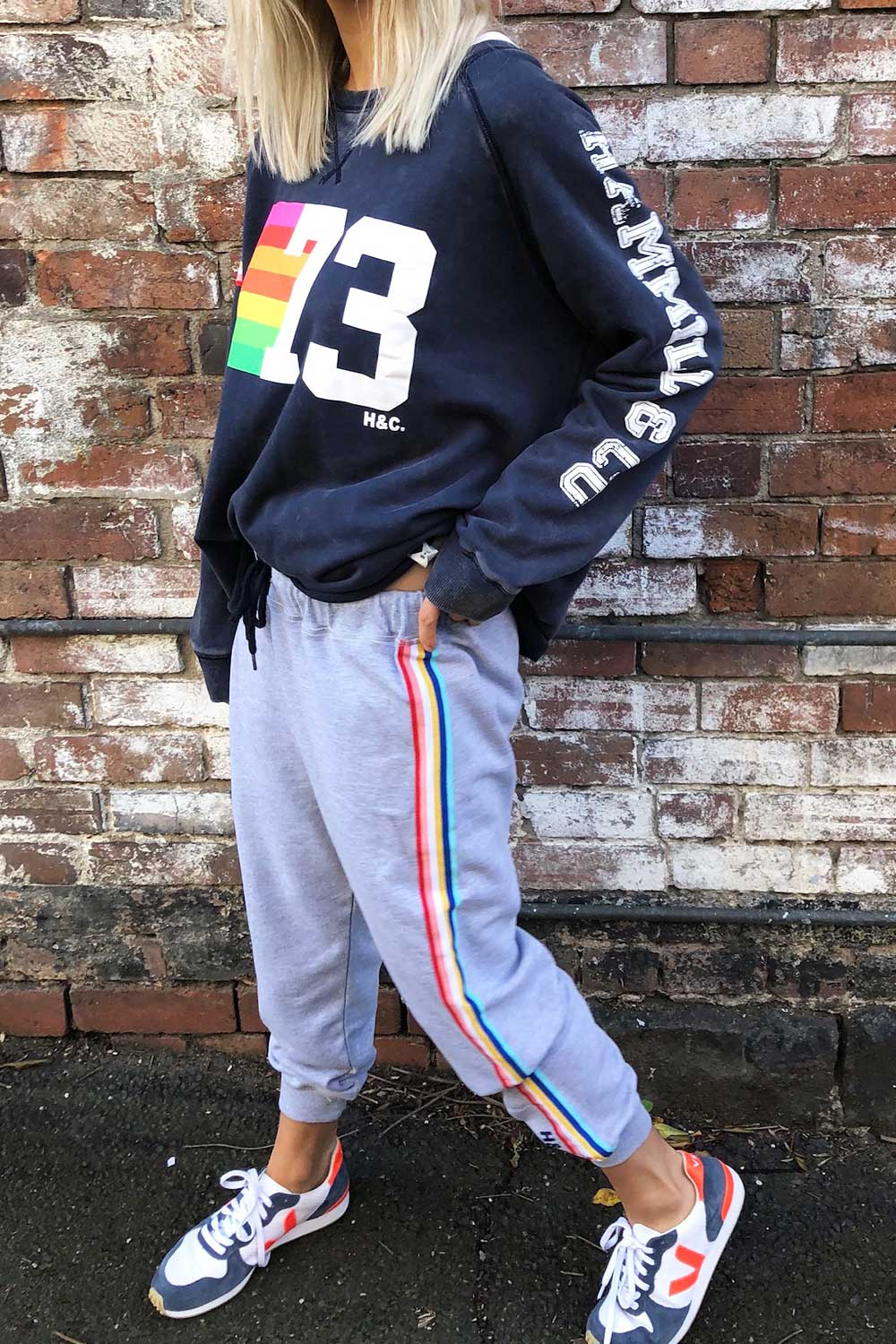 Vintage Trackpant Grey - Kabana Shop