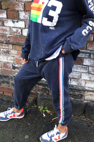 Vintage Trackpant Navy - Kabana Shop