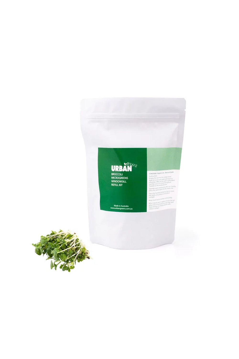 Urban Greens Refill-Broccoli Seeds - Kabana Shop