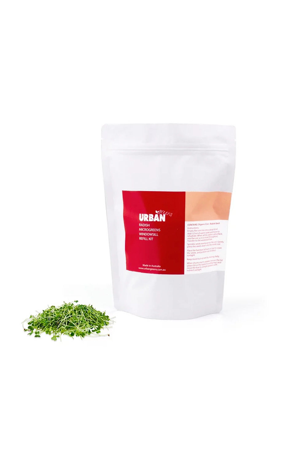 Urban Greens Refill-Radish Seeds - Kabana Shop