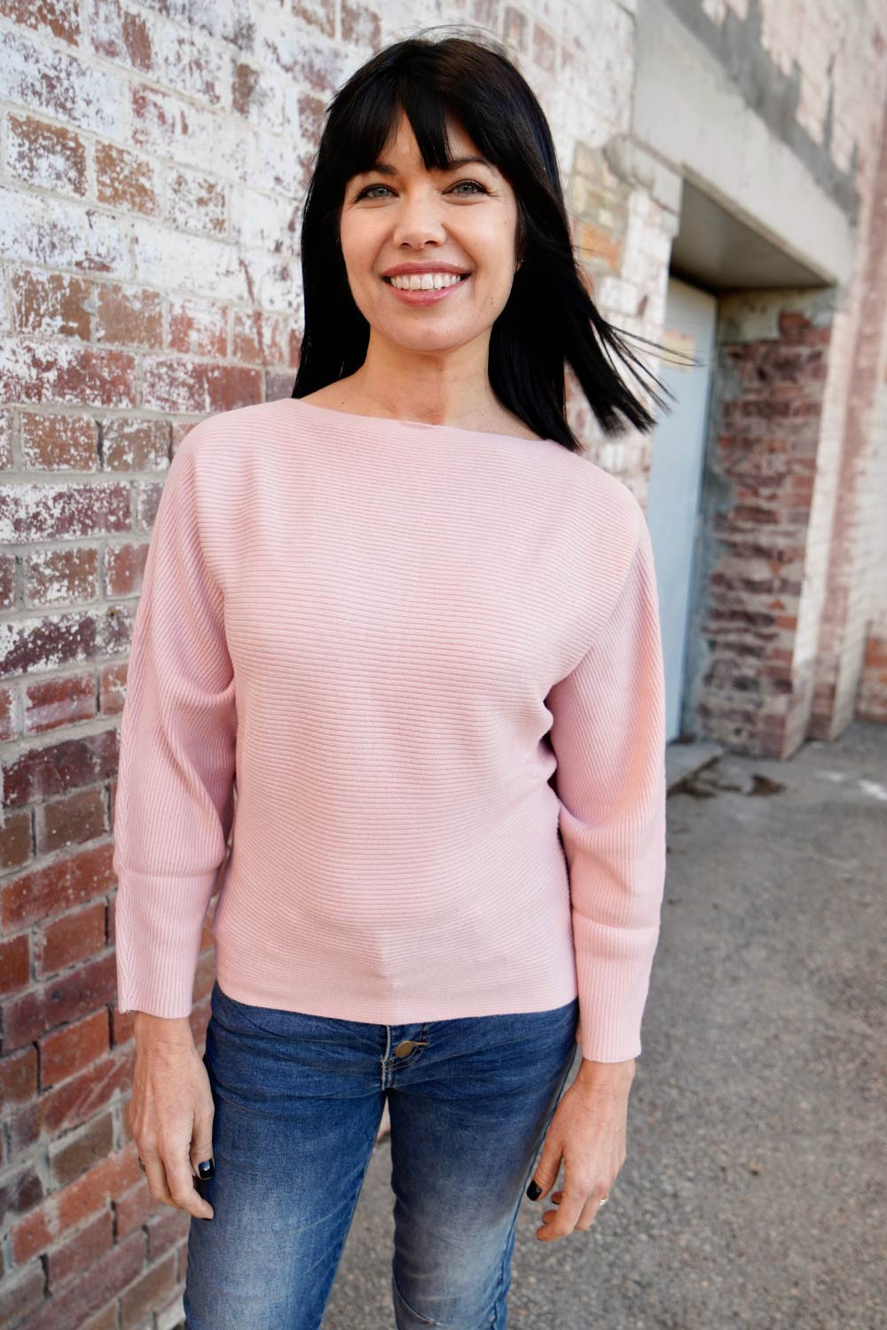 Victoria Jumper - Light Pink - Kabana Shop