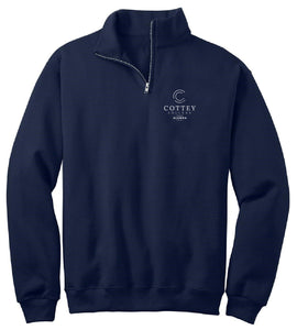 Cottey Academic Alumna Quarter Zip Pullover
