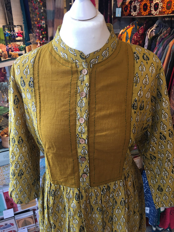 Tribes of India turmeric dress