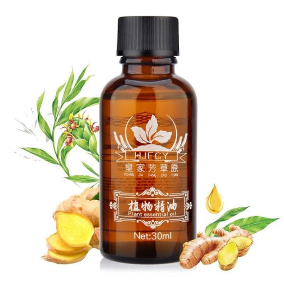 GingerBox™  100% Natural Swelling & Pain Relief Ginger Oil