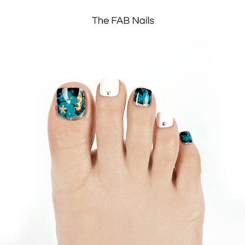 Starry Sea (Toe Nails)