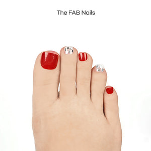 Fire Pearl (Toe Nails)