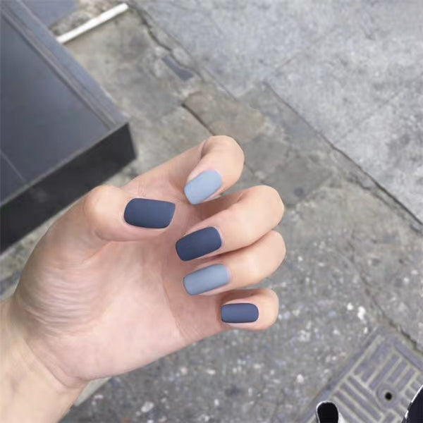 Moody Blue (Matte) - The Fab Nails