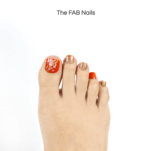 Orange Marmalade -(Toe Nails)