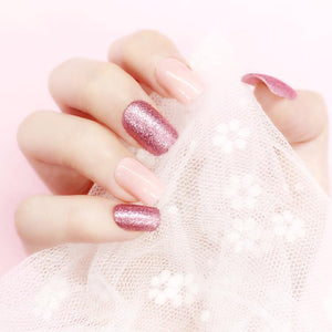 Crush and Blush (Press On) - The Fab Nails