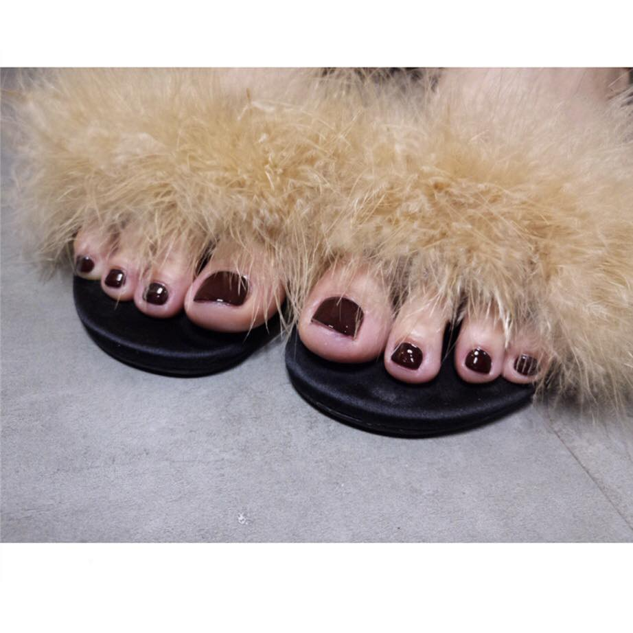 Fightoe Maroons (Toe Nails) - The Fab Nails