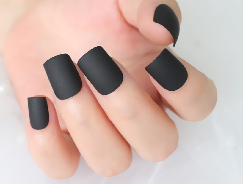 Black Magic (Matte) - The Fab Nails