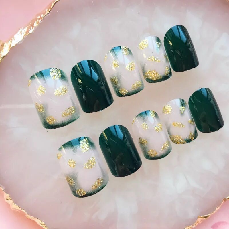 Precious Emerald - The Fab Nails
